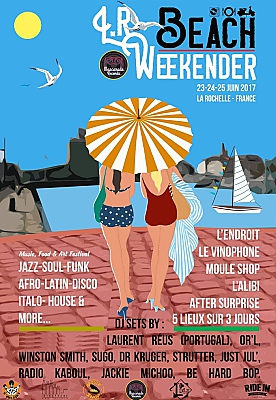 illustration de Dj sets Music & Food à La Rochelle : LR Beach Weekender les 23, 24 et 25 juin 2017