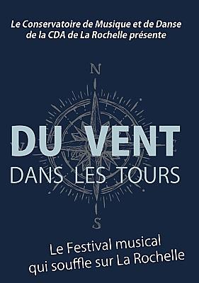 illustration de Conservatoire de La Rochelle : du vent dans les tours, ensembles et orchestres du 16 au 18 juin 2017