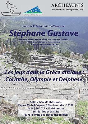 illustration de La Rochelle Agglo : les jeux dans la Grèce antique, conférence Archéaunis à Niel-sur-mer samedi 24 juin 2017 à 15h