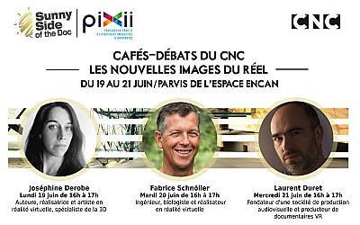 illustration de Sunny Side à La Rochelle : les nouvelles images du réel, café-débats avec le CNC les 19, 20 et 21 juin 2017