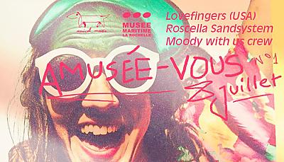 illustration de La Rochelle : prélude au Roscella Bay, soirée rooftop avec Lovefingers au Musée Maritime, samedi 8 juillet 2017