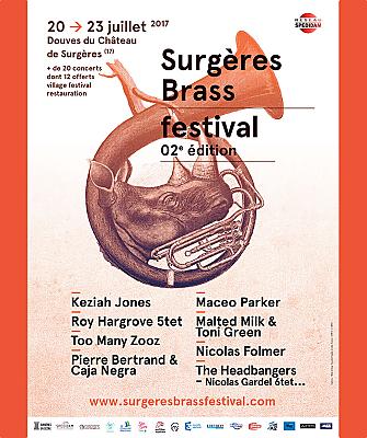illustration de Cuivres, funk & jazz en Charente-Maritime au Surgères Brass Band Festival du 20 au 23 juillet 2017