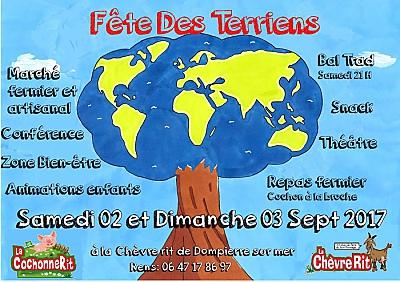 illustration de La Rochelle Agglo : fête des Terriens et marché fermier à la Chèvre Rit, samedi 2 et dimanche 3 septembre 2017