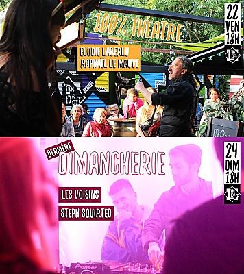 illustration de La Rochelle : fin d'été à L'Endroit : théâtre, vendredi 22/09, Dj sets, dimanche  24 septembre 2017