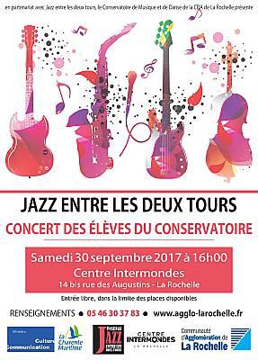 illustration de Jazz à La Rochelle : prélude au festival JEL2T en trio au Centre Intermondes, samedi 30 septembre à 16h