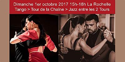 illustration de Tango à La Rochelle avec Jazz Entre les 2 Tours, dimanche 1er octobre 2017 de 15h à 18h