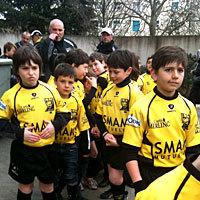 Photo  de © photo : ubacto - Stade Rochelais, école de rugby, 2010