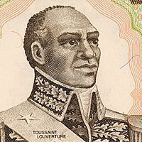 Photo  de � Portrait de Toussaint Louverture