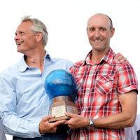 Photo  de © photo : Christophe Favreau - Podium 2012 SAP 5o5 Worl Championship La Rochelle