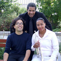 Photo  de  ubacto.com - Thiago Pinhero - Brian Carter - Courtney Johnson Jazz in Aot 2012