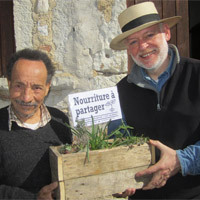 Photo  de ©  photo de presse DR - Pierre Rabhi et François Rouillay
