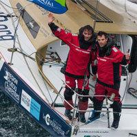 Photo  de © photo de presse : Jean Marie Liot DPPI - Aurélien Ducroz et Yannick Bestaven