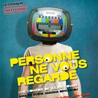 Photo  de ©  Affiche : Personne ne vous regarde, théâtre 2013