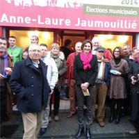 Photo  de ©  photo uabcto.com : Inauguration permanence campagne Anne-Laure Jaumouillié 2014