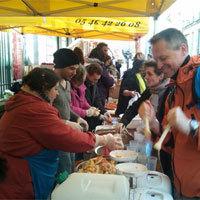 Photo  de ©  DR collectif Transition citoyenne La Rochelle - 1er février 2014 Disco soupe