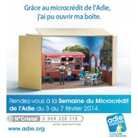 Photo  de © DR Adie - Semaine du microcrédit 2014