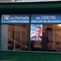 Photo  de ©  Permanence de campagne éphémère ? Municipale La Rochelle 2014