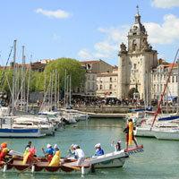 Photo  de ©  Photo de presse DR - Nautics Games joutes nautiques à La Rochelle