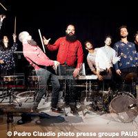 Photo  de ©  photo de presse Pedro Claudio - PAUS concert à La Rochelle 11-05-2014