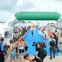 Photo  de © Photo de presse : Triathlon La Rochelle édition 2013 - En 2014 les 14 et 15 juin