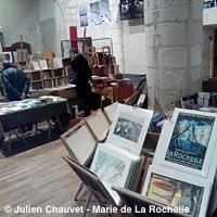 Photo  de © photo : J. Chauvet Mairie La Rochelle - Salon livres et images