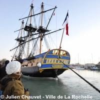Photo  de © photo : Julien Chauvet - Ville de La Rochelle Hermione 2015