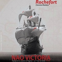 Photo  de ©  Affiche Nao Victoria tournée 2015, escale à Rochefort