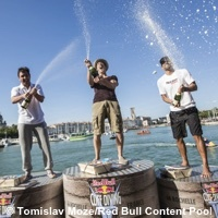 Photo  de ©  Photo : podium 2015 La Rochelle Tomislav Moze - Red Bull Content Pool