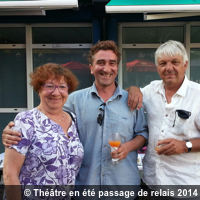 Photo  de © ubacto - Passage de relais Théâtre en été 2014 - 2015