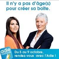 Photo  de © Campagne Adie 2015 : il n'y a pas d'âge pour entreprendre