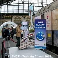 Photo  de © Photo : Trains Expo SNCF - Train du Climat octobre 2015