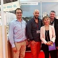 Photo  de © photo DR : entrepreneurs du Fabriqué à La Rochelle au MIF Expo 2015