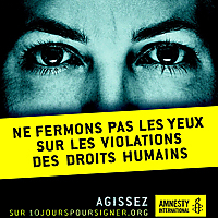 Photo  de © Affiche 2015 - 10 jours pour signer - Amnesty International