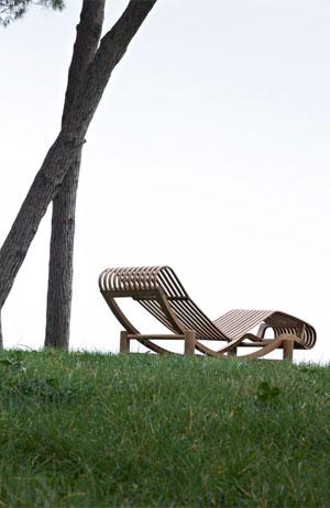 Chaise longue Tokyo chez Cassina