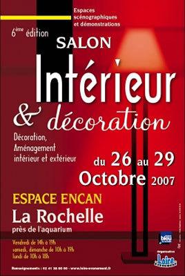 flyers : Salon Intérieur & décoration 2007 - en images - ubacto La Rochelle