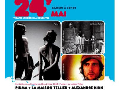 Photo : Concert Chantier des Francos, La Rochelle 24 mai 08