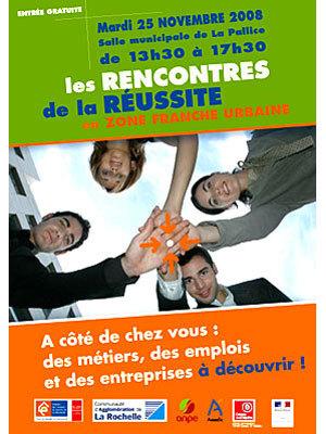Photo : La Rochelle : 2e Rencontres de la réussite en Z.F.U mardi 25 novembre 2008