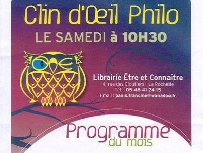 Photo : Café philo - La Rochelle