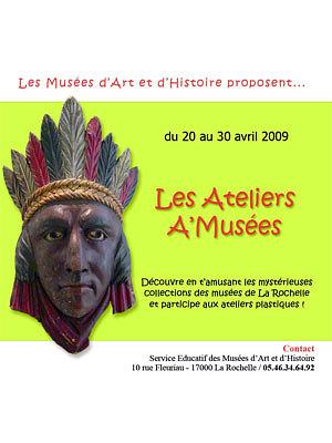 Photo : La Rochelle : ateliers aux musées pendant les vacances de Pâques