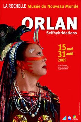 Photo : Selfhybridations : exposition d'Orlan à La Rochelle du 15 mai au 31 août 2009