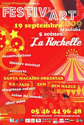 Photo : La Rochelle : Festiv'Pro vendredi 18 et Festiv'Art samedi 19 septembre 2009