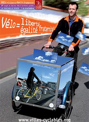 Photo : À La Rochelle : Congrès des villes et territoires cyclables du 7 au 9 oct. 09