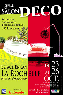 Photo : 8e Salon Déco à La Rochelle du 23 au 26 octobre 2009