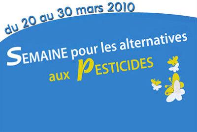 Photo : La Rochelle : une semaine de lutte contre les pesticides du 20 au 30 mars 2010