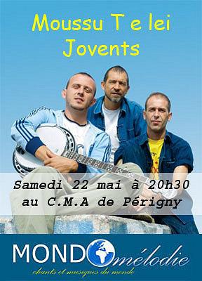 Photo : La Rochelle Périgny : Toussu T e lei Jovents en concert sam. 22 mai 2010