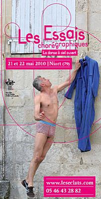 Photo : 2e Essais Chorégraphiques à Niort, 21 et 22 mai 2010