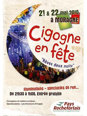 Photo : Cigogne en Fête à Moragne vendredi 21 et samedi 22 mai