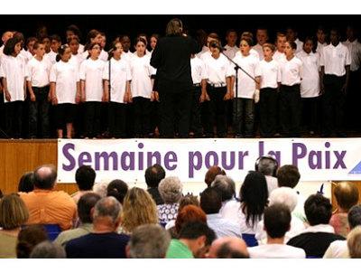 Photo : Semaine pour la Paix à La Rochelle 29 mai - 4 juin 2010