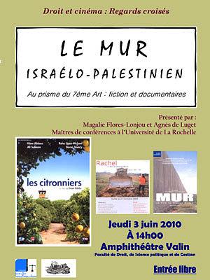 Photo : La Rochelle : droit et cinéma, jeudi 3 juin 2010