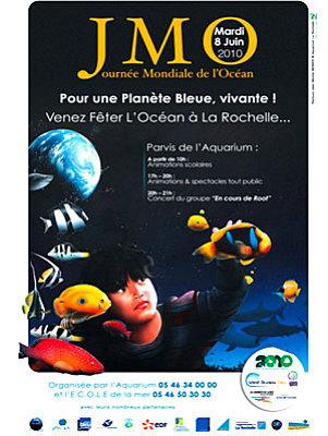 Photo : La Rochelle : journée mondiale de l'océan, mardi 8 juin 2010